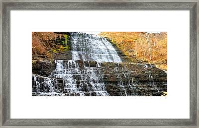 Albion Falls  Framed Print by Puzzles Shum