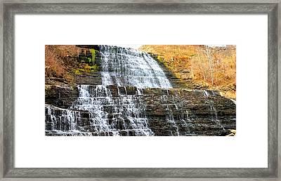 Albion Falls  Framed Print