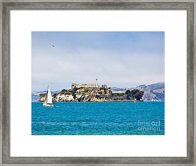 Alcatraz - San Francisco Framed Print