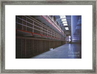 Alcatraz Awaits Framed Print by Paul W Faust -  Impressions of Light