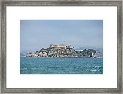 Alcatraz Island Framed Print by Cassie Marie Photography
