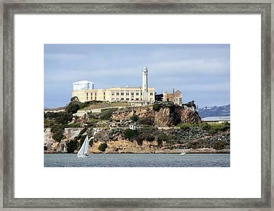 Alcatraz Island Framed Print by Luiz Felipe Castro