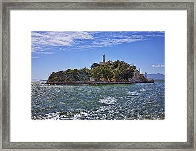 Alcatraz Island San Francisco Framed Print by Garry Gay
