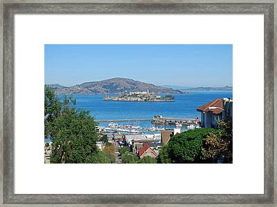 Alcatraz Island Framed Print by Twenty Two North Photography
