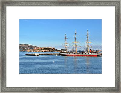 Alcatraz - No Escape Framed Print by Christine Till