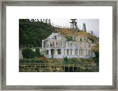 Alcatraz Skeleton Framed Print by Paul W Faust -  Impressions of Light