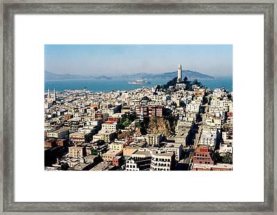 Alcatraz Framed Print by Trent Mallett