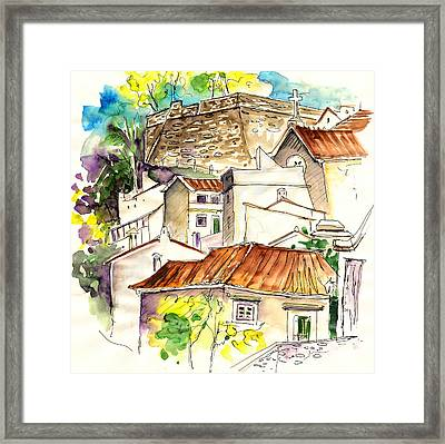Alcoutim In Portugal 04 Framed Print by Miki De Goodaboom
