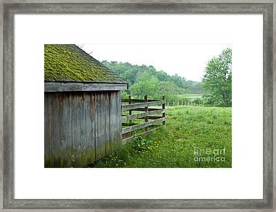 Aldemere Farm Framed Print by Susan Cole Kelly