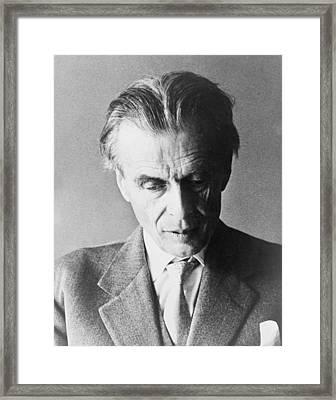 Aldous Huxley 1894-1963 English Author Framed Print by Everett