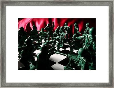Alekhine's Gun Framed Print by Lon Casler Bixby