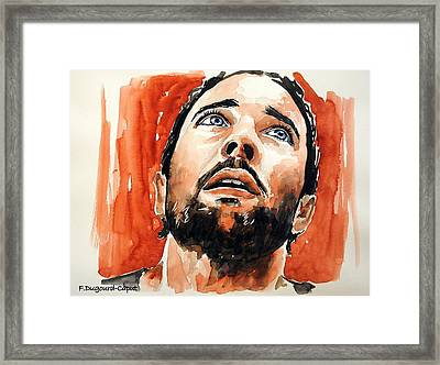 Alex O'loughlin Framed Print by Francoise Dugourd-Caput