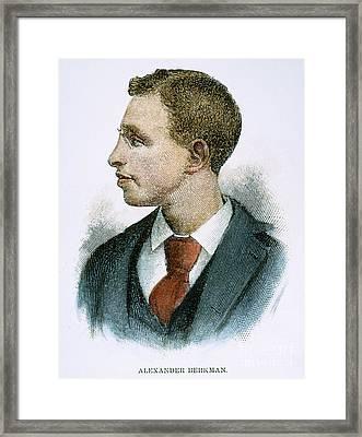 Alexander Berkman Framed Print by Granger