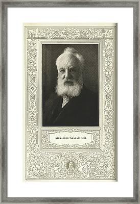 Alexander Graham Bell, British Inventor Framed Print