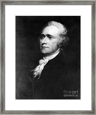Alexander Hamilton, American Patriot Framed Print