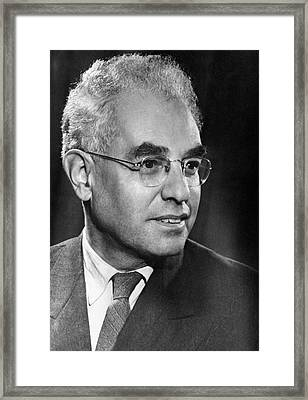 Alexander Luria, Russian Psychologist Framed Print