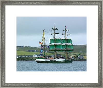 Framed Print featuring the photograph Alexander Von Humboldt by Lynn Bolt
