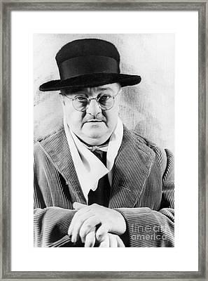 Alexander Woollcott Framed Print by Granger