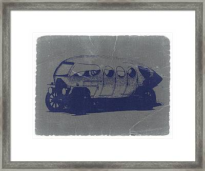 Alfa Romeo Framed Print by Naxart Studio