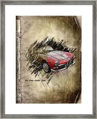Alfa Romeo Framed Print by Svetlana Sewell