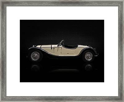 Alfa Romeo Zagato Framed Print by Douglas Pittman
