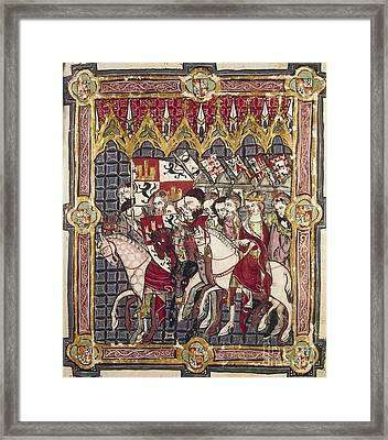 Alfonso Vii (1105-1157) Framed Print by Granger
