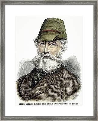 Alfred Krupp (1812-1887) Framed Print by Granger