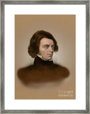 Alfred, Lord Tennyson, English Poet Framed Print by Science Source