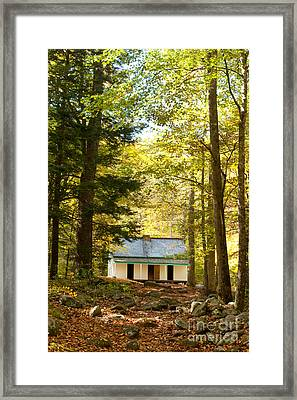 Alfred Reagan House Framed Print by Lena Auxier