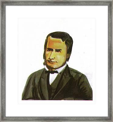 Alfred Saker Framed Print by Emmanuel Baliyanga