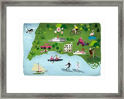 Algarve Framed Print