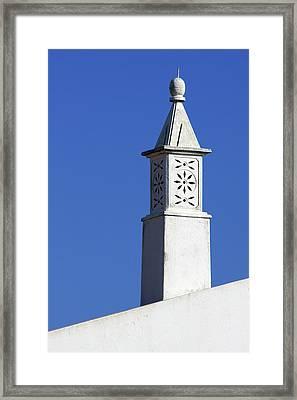 Algarve Region Typical Chimney Framed Print