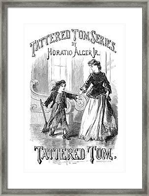 Alger: Tattered Tom Framed Print by Granger