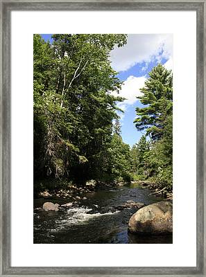 Algonquin Odes Three Framed Print by Alan Rutherford