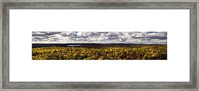 Algonquin Park Panorama Framed Print