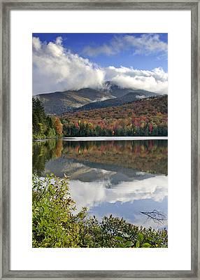 Algonquin Peak From Heart Lake - Adirondack Mountains Framed Print
