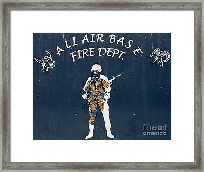Ali Air Base Fd Framed Print by Unknown