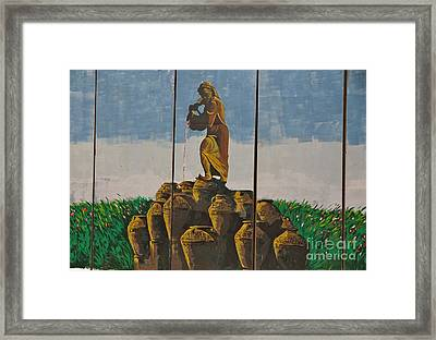 Ali Baba And The Forty Theives Framed Print by Unknown - Iraqi Local National