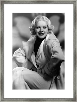 Alice Faye, Fox Film Portrait, Ca Framed Print