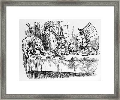 Alice In Wonderland Framed Print by Photo Researchers, Inc.