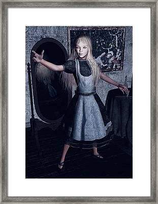 Alice  Framed Print by Maynard Ellis