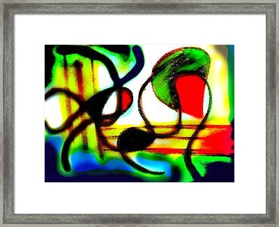 Alien Aracno Surgery 2 Framed Print by Stephanie Margalski