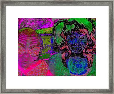 Alien Child Framed Print by Rdr Creative