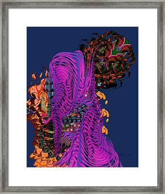 Alien Encounter Framed Print
