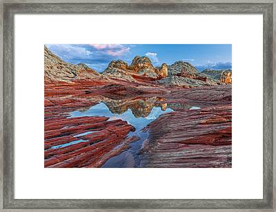 Alien Land Framed Print by Guy Schmickle