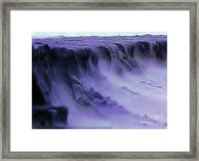 Framed Print featuring the photograph Alien Landscape The Aftermath by Blair Stuart