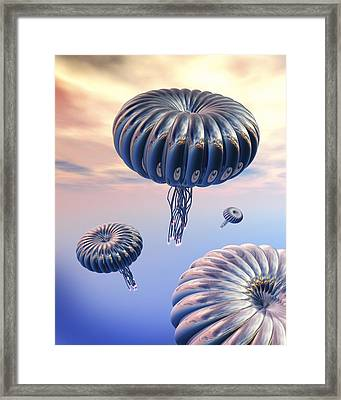 Alien Life Framed Print by Victor Habbick Visions
