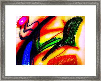 Alien Suntan II Framed Print by Stephanie Margalski