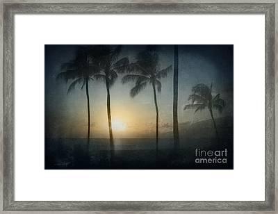 Alii Kahekili Nui Ahumanu Beach Kaanapali Maui Hawaii Framed Print