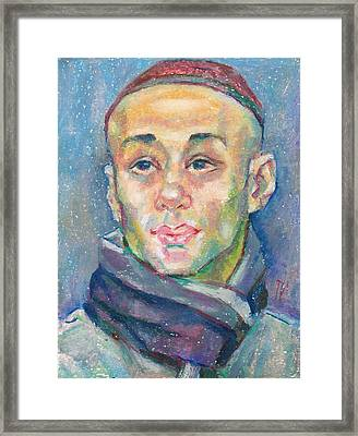 Alisher Khasanov Framed Print by Leonid Petrushin